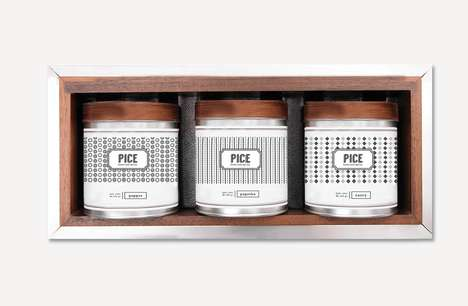 Ultramodern Herb Packaging - This Minimalist Spice & Herb Packaging Emphasizes Freshness