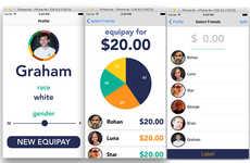 Equality Bill-Splitting Apps - The EquiTable Platform Splits Dining Checks Based on Wages