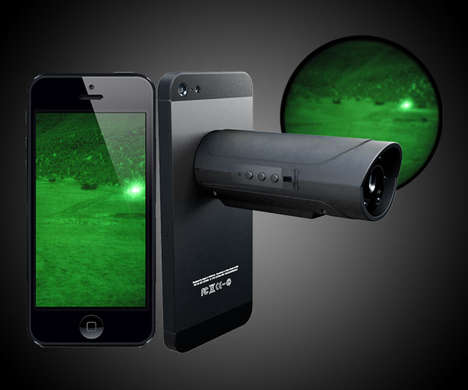 Night Vision Smartphone Lenses - Snooperscope Lets Users See in the Dark While Hunting or Fishing