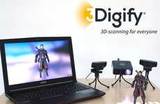 Object-Scanning Software - The '3Digify' 3D Scanner System Turns Cameras into Scanners