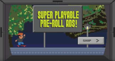 Playable Pre-Roll Advertisements - These Mountain Dew Pre-Roll Ads Feature Interactive Games