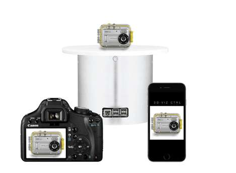 Smart Photography Turntables - The ATXS360 Allows Users to Take the Perfect 360° Photographs