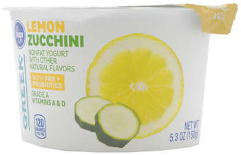 Vegetable-Flavored Yogurts - Kroger's Flavored Green Yogurt Combines Fruits and Vegetables