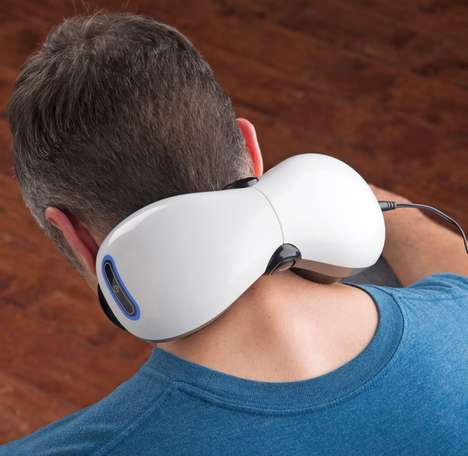 Versatile Personal Massagers - The Adjustable Fit Muscle Massager Offers Intuitive Tension Relief