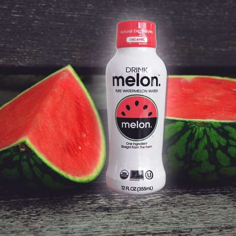 Hydrating Melon Water - DRINKmaple Introduces an All-new Melon Water Beverage at Expo West