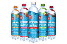 Sparkling Caffeinated Water - Sparkling Avitae is a New Line of Energizing Water-Based Beverages