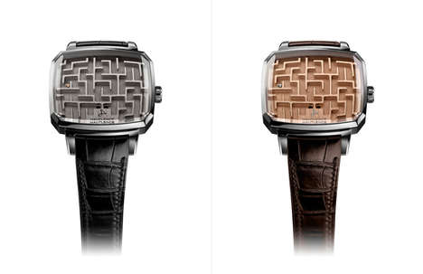 Youthful Luxury Timepieces - Hautlence's LABYRINTH Watch Pays Tribute to a Childhood Game