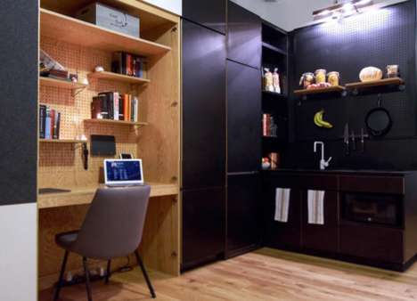 Communal Living Experiments - The WeWork WeLive Space is a Converted 20 Storey office Building