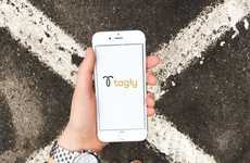 Sponsored Post Social Apps - The Fashionable Tagly App Showcases Customized Lifestyle Brand Content