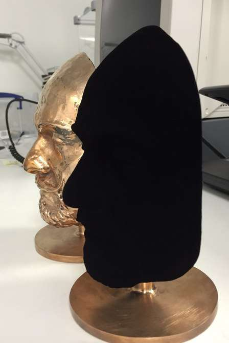 Hyper-Black Spray Paints - The Vantablack S-VIS Spray Paint is As Black As Can Be