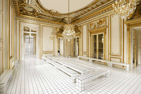 Luxury Retail Photography - Gregoire Vieille Captures the Interiors of Some of the Poshest Spaces