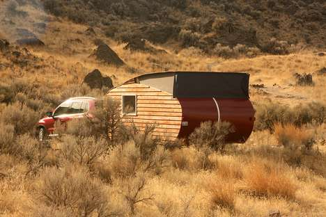 Eco-Friendly Teardrop Trailers - This Trailer Relies On An 800-Watt Solar Array For Its Energy Needs