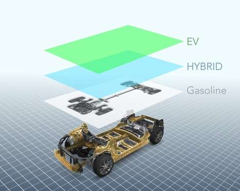 Energy-Absorbing Auto Platforms - Subaru's Automotive Platform Promises Improved Safety and Handling