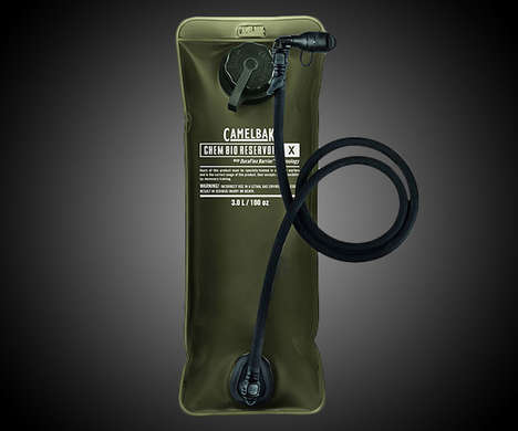 Chemical-Proof Water Packs - The CamelBak Chem Bio Reservoir Protects H2O from Contaminants