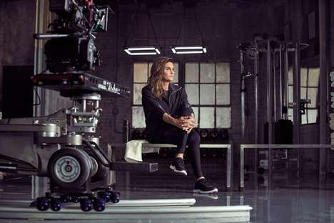 Transgender Sportswear Campaigns - The First Caitlyn Jenner Fashion Campaign Will Be for H&M Sport