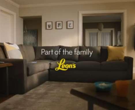 Family-Focused Furniture Ads