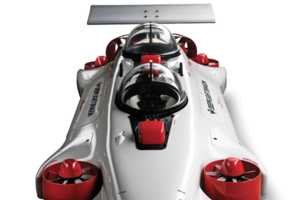 The Undersea Aquahoverer Submarine Design is Easy to Drive
