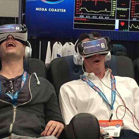 Action-Packed Adventure Simulators - At SXSW, Gillette Created a VR 'Pressure Chamber' Experience