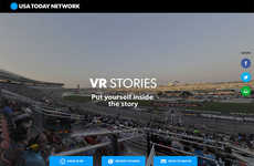 VR News Platforms - USA Today's 'VRtually There' Delivers the News Through Virtual Reality