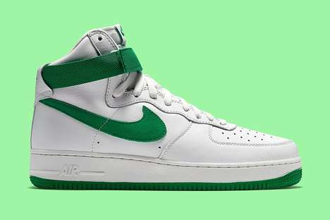 Festive Ireland-Inspired Kicks - Nike's Newest Air Force 1 Design Honor St. Patrick's Day