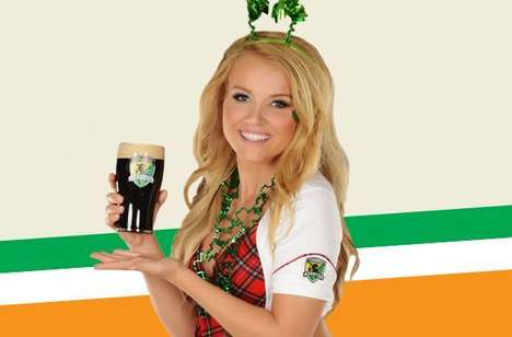 Traditional Irish Menus - The Irish Hooley Menu at the Tilted Kilt Celebrates St. Patrick's Day