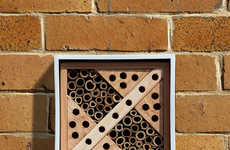 The Urban Insect and Bees Nest Offers a Sanctuary for Bugs