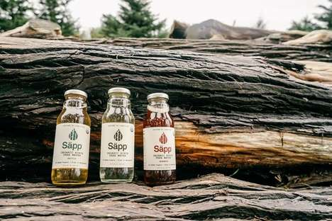 Infused Birch Water - Säpp's Birch Tree Water Comes in Varieties Infused with Nettle and Rosehip