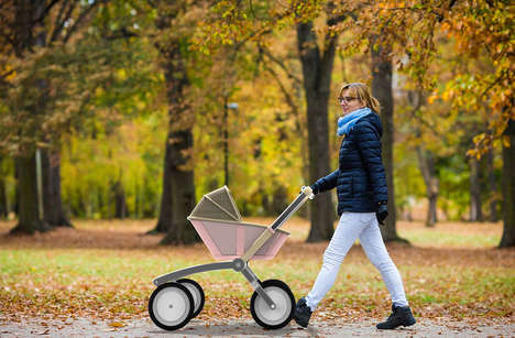 11 Modern Baby Strollers - From Hybrid Baby Strollers to Self-Propelled Strollers
