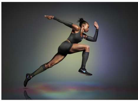 Speed-Increasing Sportswear - The Nike Vapor Track & Field Kits Boasts AeroSwift Technology