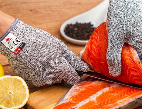 Knife-Proof Gloves - The 'NoCry' Cut Resistant Gloves Stop Kitchen Injuries from Occurring