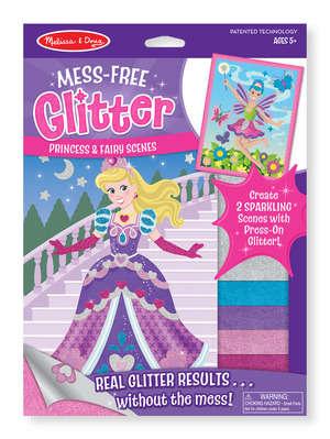 Anti-Mess Glitter Toys - The Melissa & Doug Mess-Free Glitter Foam Stickers Require Zero Cleanup