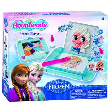 Meticulous Mess-Free Toys - The Aquabeads Frozen Playset Gets Kids Excited About Bead Art