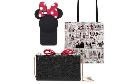Designer Disney Accessories - Kate Spade New York's Minnie Mouse Collection is Playful and Chic