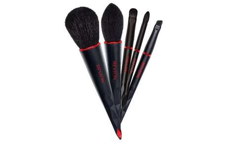 Automobile Makeup Brushes - The BMW x Revlon Cosmetic Brushes Bring the Car's Luxury to Makeup