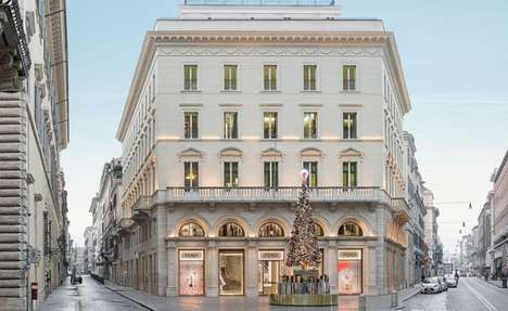 Couture Private Shopping Suites - The Fendi Private Suites in Rome Offer a Discreet VIP Experience