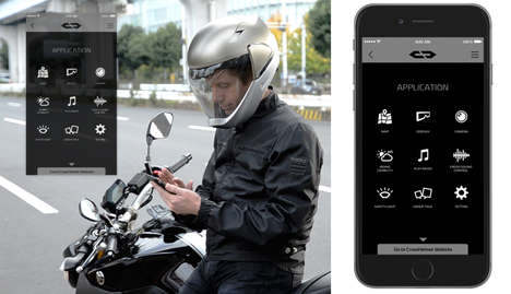 360-Degree Visibility Helmets - The CrossHelmet Offers Motorcycle Riders Vision from All Angles
