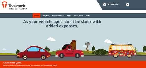 Revamped Warranty Websites - Trustmark Warranty's New Website Boasts a User-Friendly Interface