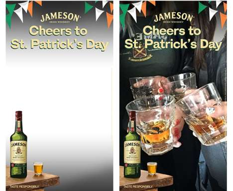 Whiskey Snapchat Campaigns - Jameson is the First Alcohol Brand to Use the Age-Gated Tool Nationally