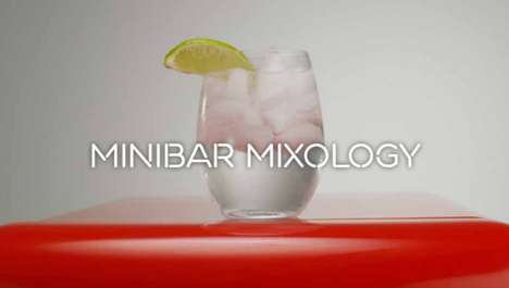 Minibar Mixology Videos - Virgin Hotels Chicago Illustrates Making Mixed Drinks with Minibar Alcohol