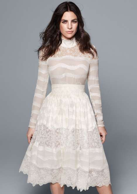 Cost-Conscious Bridal Gowns - The H&M 2016 Conscious Collection Features Affordable Wedding Dresses