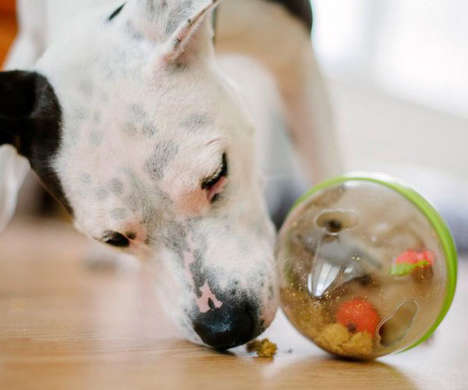 Rewarding Canine Toys - The Wobble Ball 2.0 Dispenses Treats Upon Task Completion