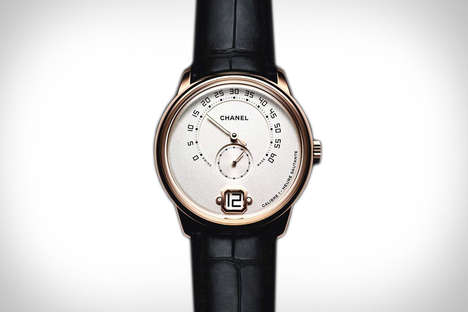 Couture Masculine Timepieces - The Monsieur de Chanel Calibre 1 Watch is the Brand's First for Men