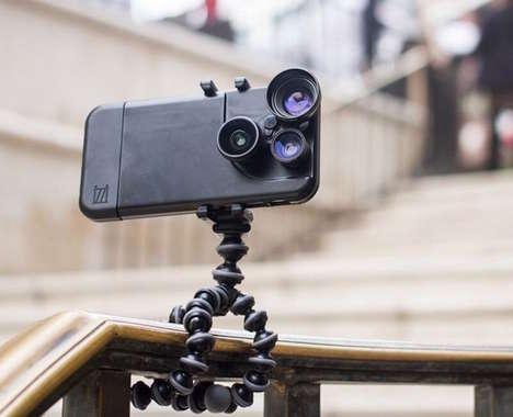 Interchangeable Lens Phone Cases