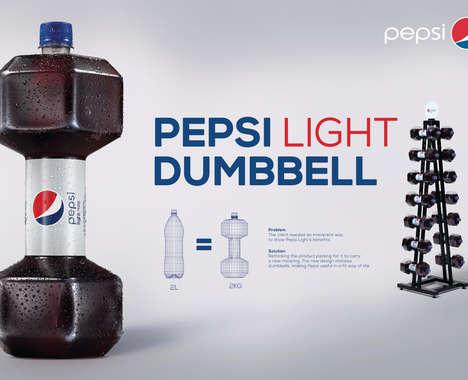 Gym-Inspired Bottle Designs