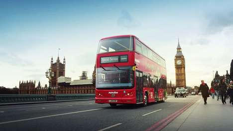 Double-Decker Electric Buses - All-Electric London Double-Decker Buses Have Hit the Streets