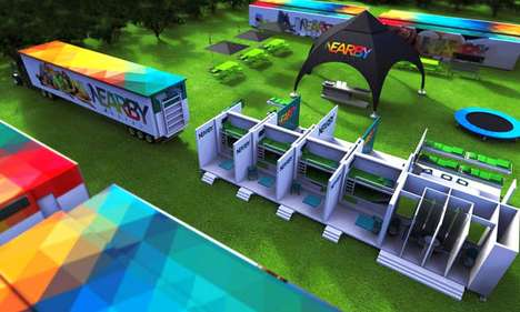 Mobile Festival Accommodations - The 'Nearby' Mobile Hostel Expands to Offer Enhanced Amenities