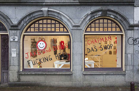 Accessible Art Pop-Ups - The F**ing Hell Das Shop is a Project by Artists Jake and Dinos Chapman