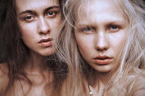 Nomadic Beauty Portraits - Daniel Stigefelt's Latest Beauty Scene Exclusive Features Glowing Skin