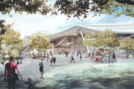 Eco-Friendly Tech Hubs - The Google Campus Redesign Involves Integration with the Local Biosphere