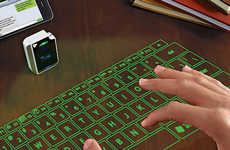 Projected Virtual Keyboards